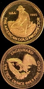1:10oz 1985 GOLD PROSPECTOR