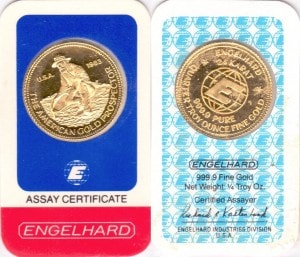 1:4oz 1983 ASSAY CARD