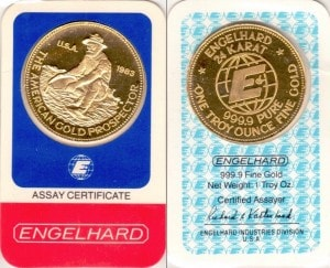 1OZ 1983 ASSAY CARD