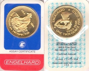 1OZ 1984 ASSAY CARD