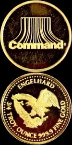 3:4OZ 19-86 COMMAND GOLD ROUND
