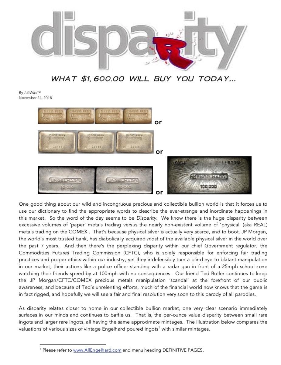 AFGWire DISPARITY 11-24-18