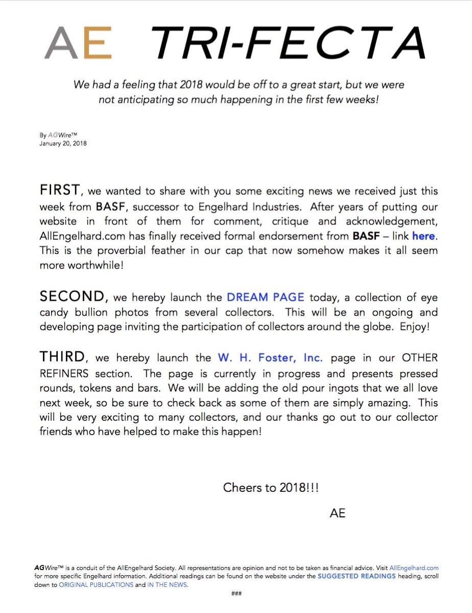 AGWire AE TRI-FECTA 1-20-18