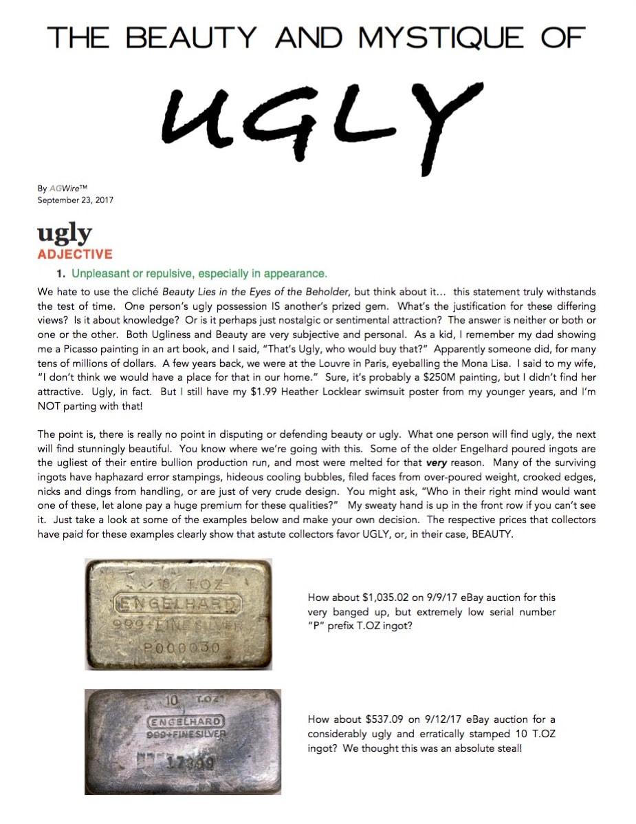 AGWire UGLY 9-23-17